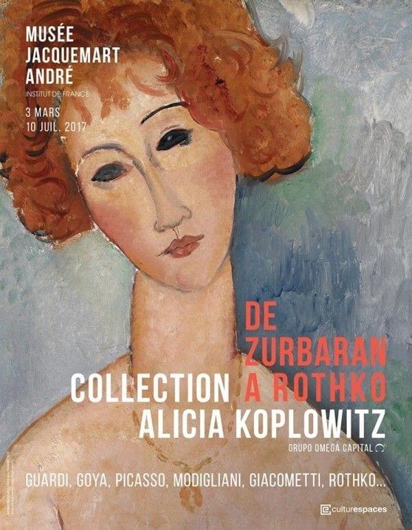 Exposition de Zürbaran à Rothko
