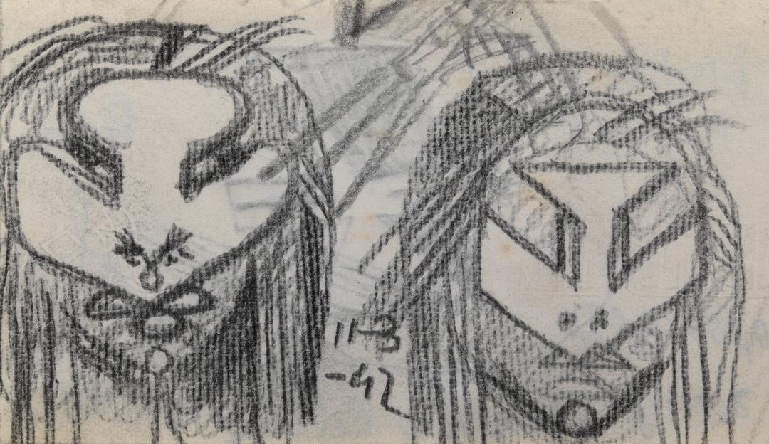DEUX VISAGES (TWO FACES)