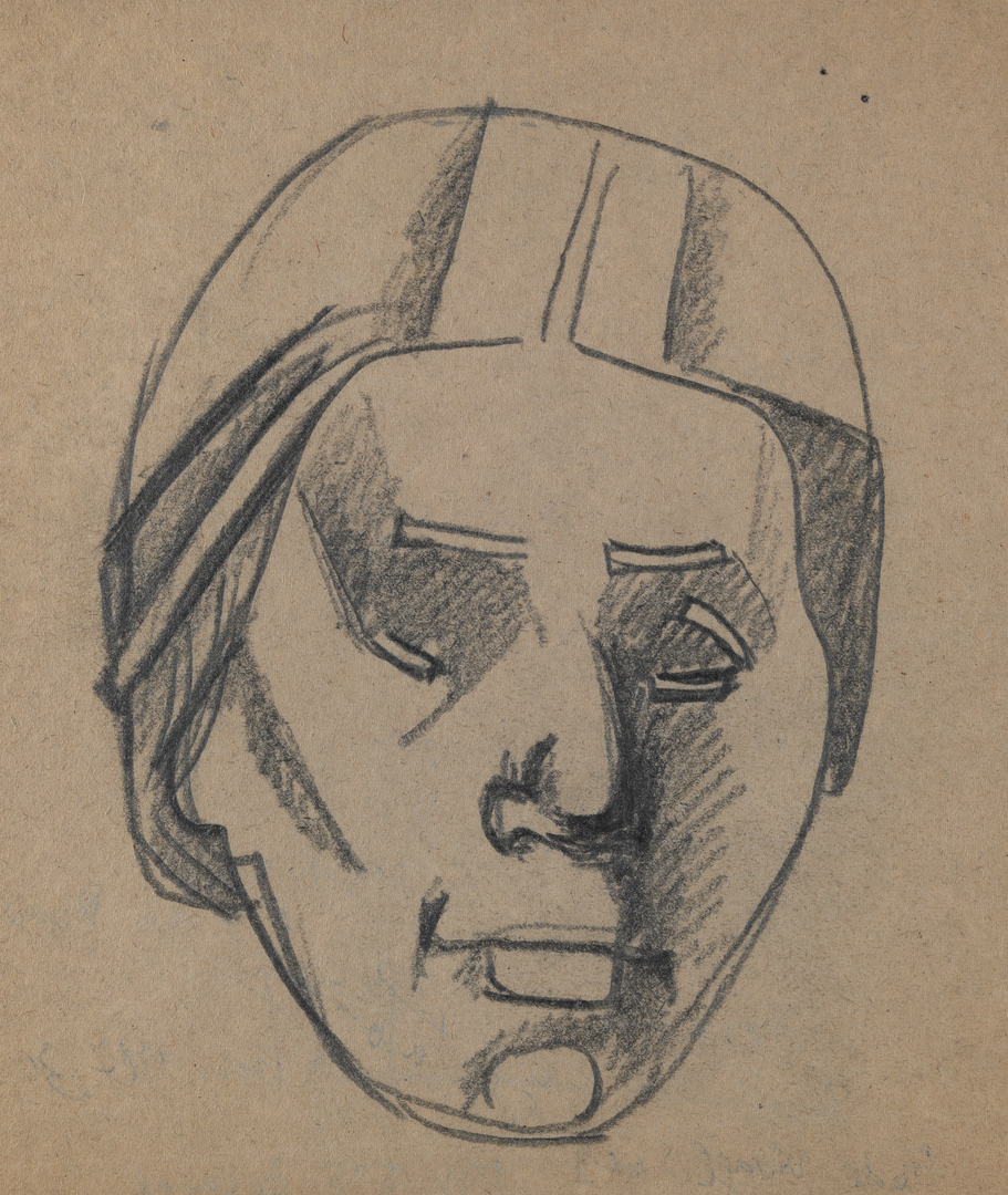 ETUDE DE VISAGE N°1 (STUDY OF FACE N°1)
