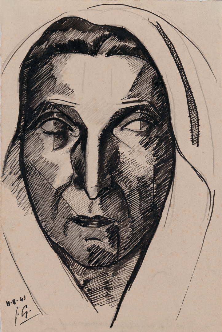 ETUDE POUR MARIE-THERESE EN PAYSANNE (STUDY FOR MARIE-THERESE AS A FARMER)