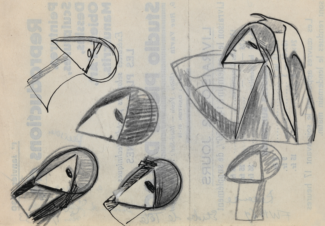 ETUDES DE TÊTES (STUDIES OF HEADS)