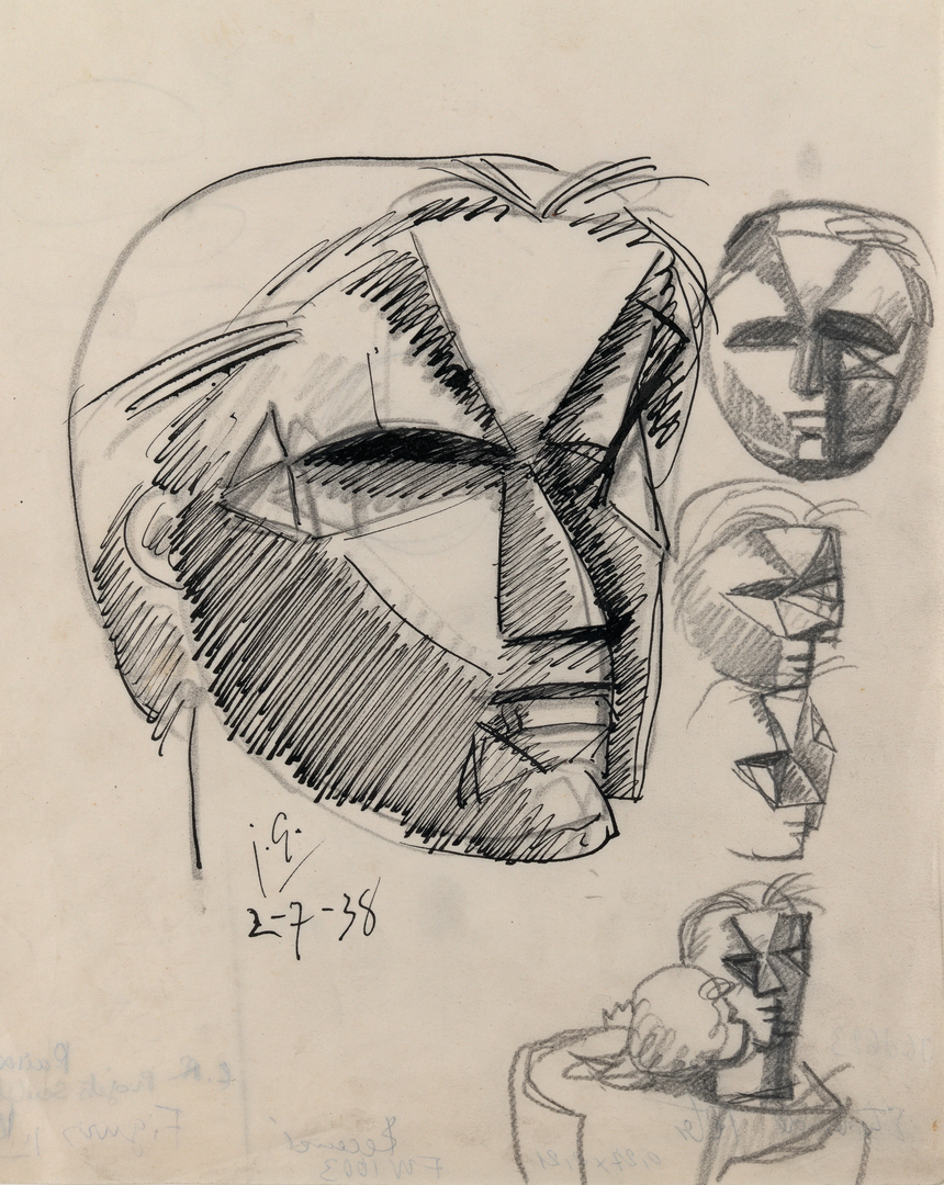 ETUDES DE TÊTES (STUDIES OF HEADS)