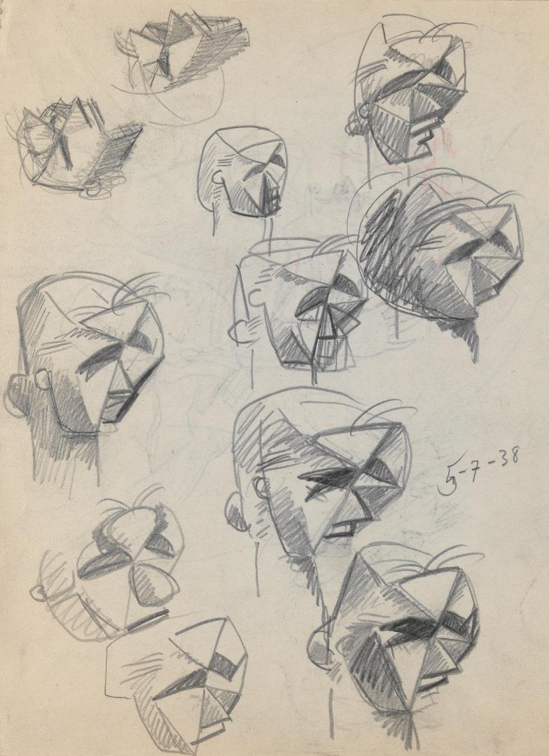 ETUDES DE VISAGES (STUDIES OF FACES)