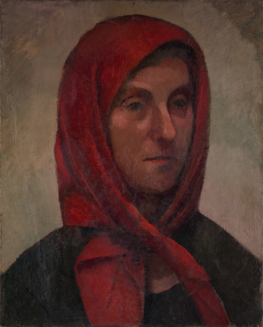 FEMME AU FICHU (WOMAN WITH HEADSCARF)