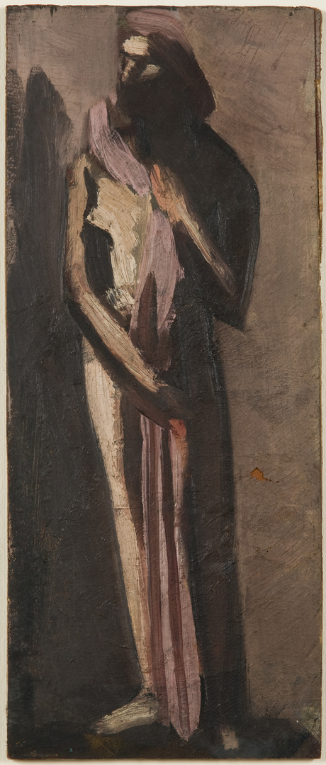 LA FEMME AUX TROIS PLIS (WOMAN WITH THREE PLEATS)