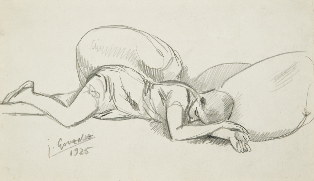 MARIE-THERESE COUCHÉE (MARIE-THERESE LYING DOWN)
