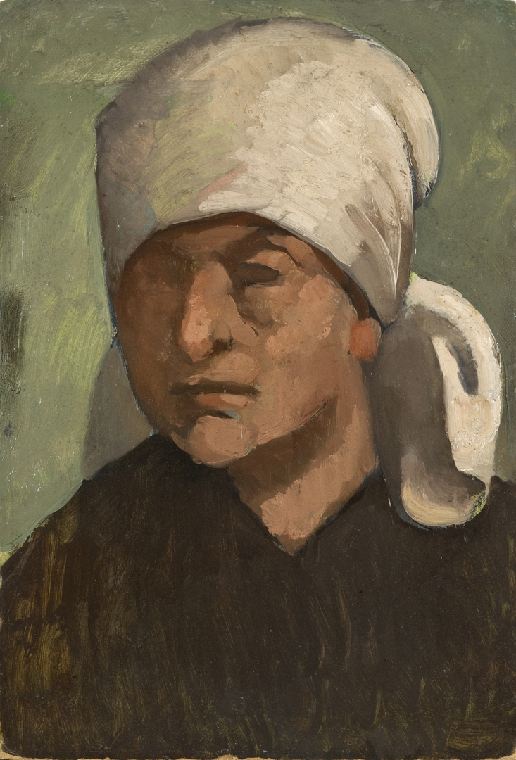 PAYSANNE AU FICHU (FARMER WITH HEADSCARF)