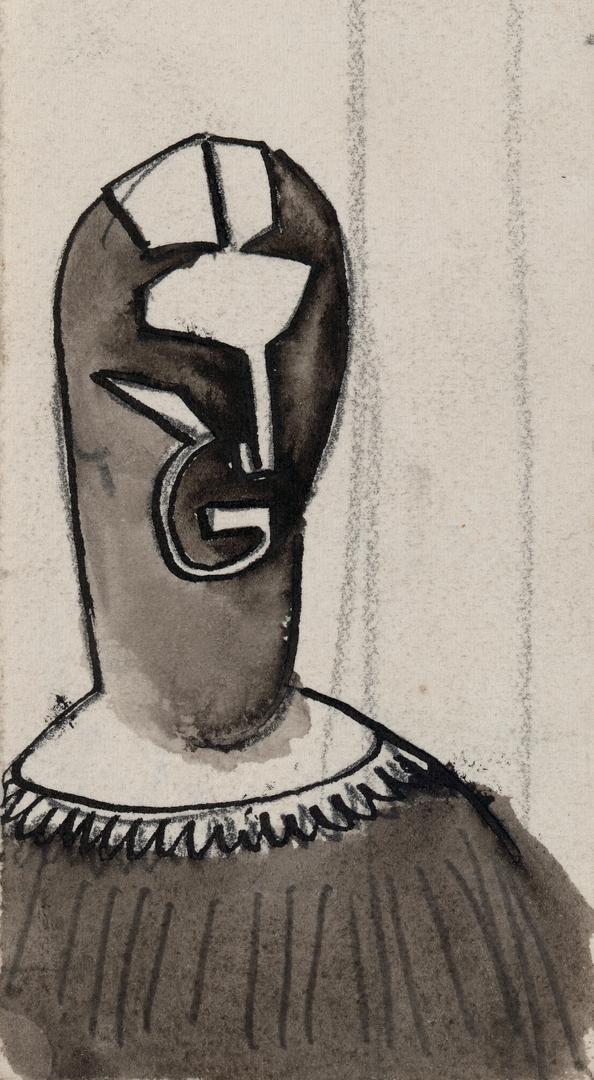 VISAGE FEMININ N°1 (FEMALE FACE N°1)
