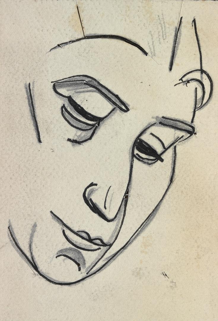 VISAGE PENCHÉ (TILTED FACE)