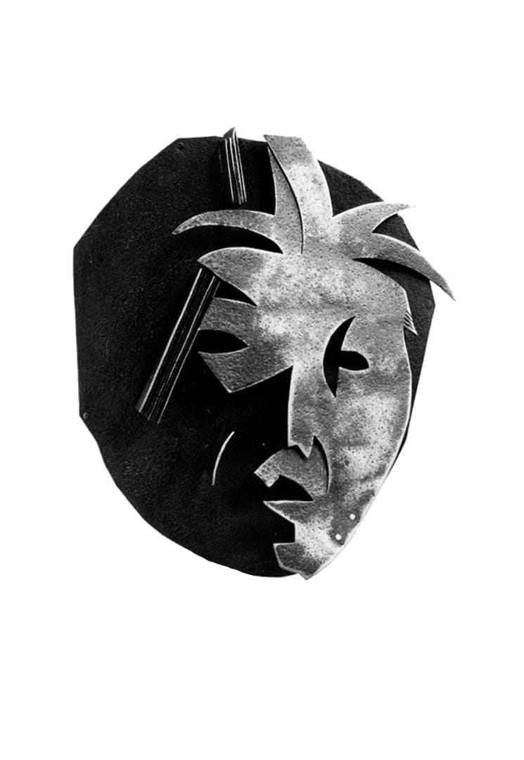 "MASQUE DÉCOUPÉ DE ""PILAR AU SOLEIL"" – CUT OUT MASK OF ""PILAR IN THE SUN"""