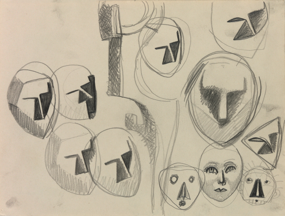 ETUDES DE VISAGES (STUDIES OF FACES)