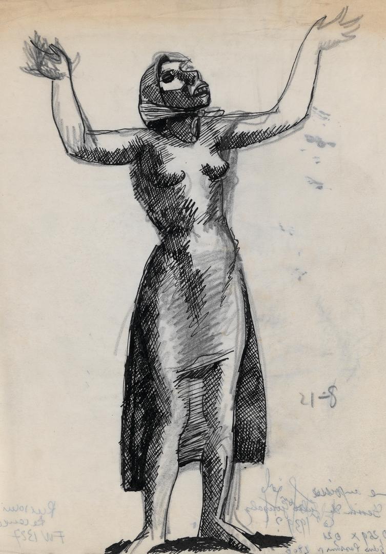 FEMME ANGOISSÉE (ANGUISHED WOMAN)