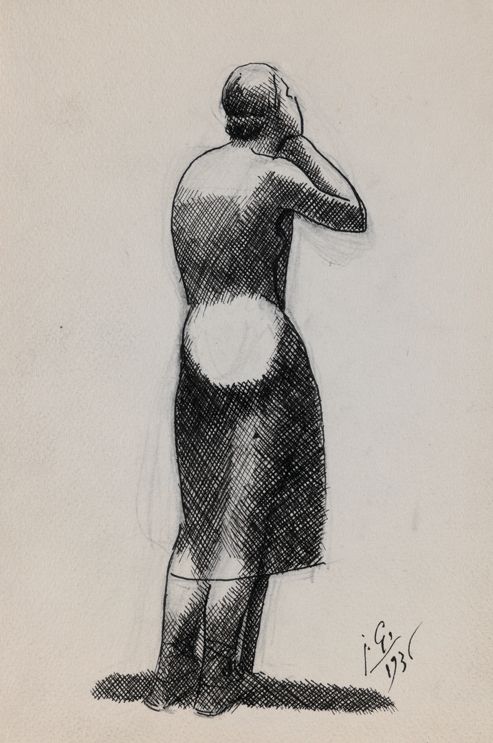 FEMME AU BATON (WOMAN WITH A STICK)