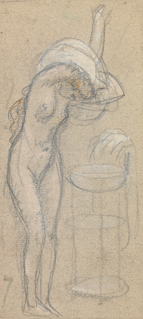FEMME SE LAVANT (WOMAN WASHING HERSELF)