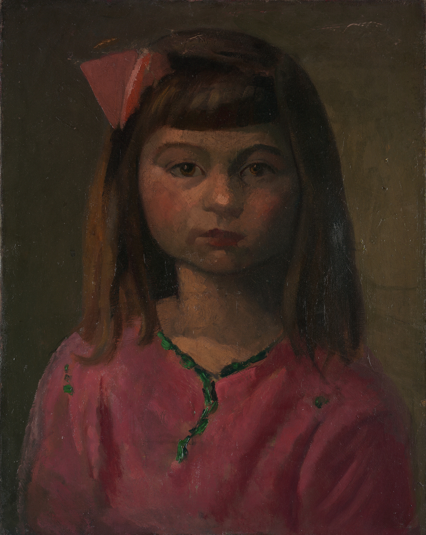 FILLETTE À LA ROSE (YOUNG GIRL WITH ROSE)