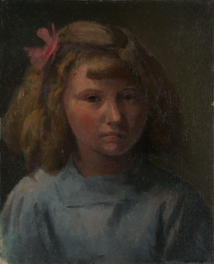 PORTRAIT D'UNE PETITE FILLE (PORTRAIT OF A LITTLE GIRL)