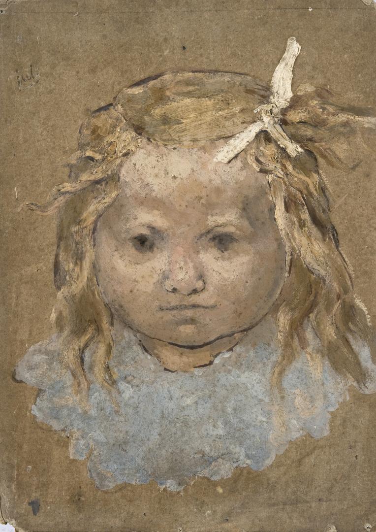 VISAGE DE FILLETTE (FACE OF A LITTLE GIRL)