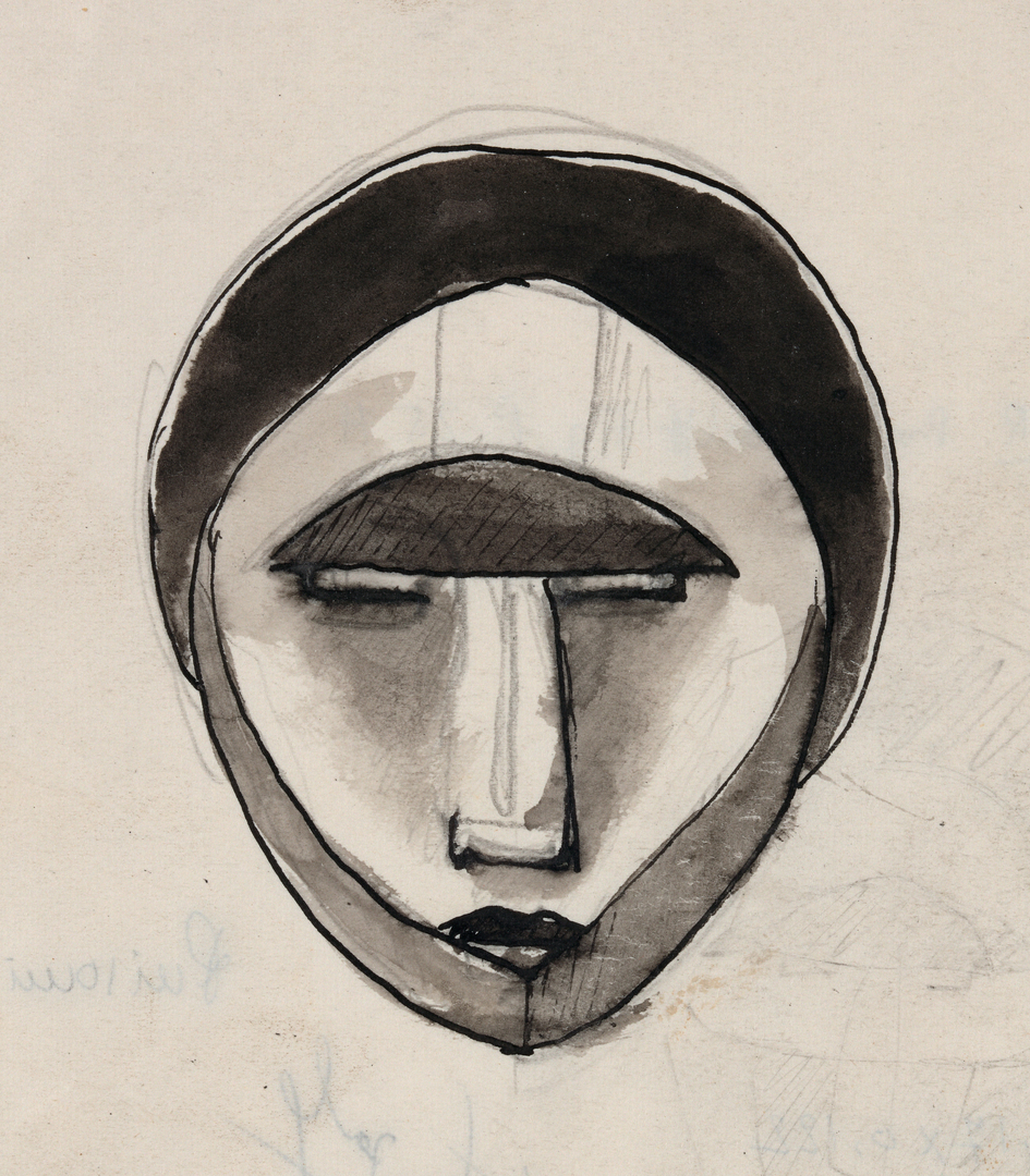 VISAGE FERMÉ (UNCOMMUNICATIVE FACE)
